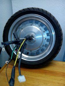 6 Phases hub-motor